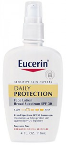Eucerin Daily Protection Face Lotion Moisturizing SPF 30 - 4 oz.