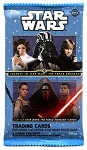 Journey to Star Wars Force Awakens Trading Card Pack