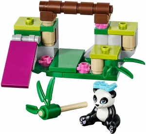 LEGO Friends Panda in the Bamboo 41049