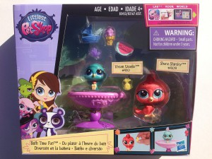 Littlest Pet Shop Bath Time Fun Playset