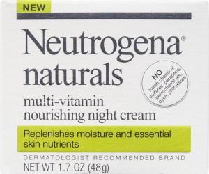 Neutrogena Naturals Nourishing Night Cream 1.7 oz