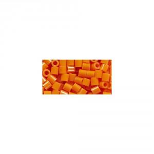 Perler Beads Orange Bag
