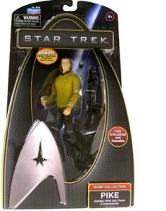 Pike Star Trek The Voyage Continues 6 Inch Movie Action Figure