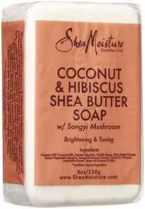 Shea Moisture Coconut Hibiscus Bar Soap-8 oz