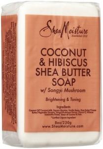 Shea Moisture Coconut - Hibiscus Shea Butter Soap