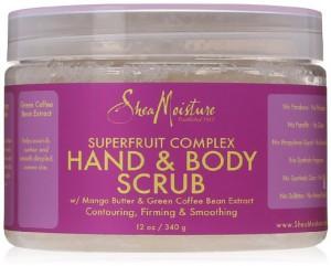 Shea Moisture Superfruit Complex Hand & Body Scrub 12 Oz