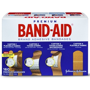 Band Aids Variety Pack 160 Count