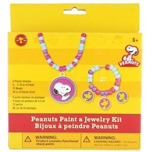 Paint A Jewelry Kit- Peanuts