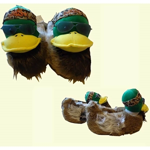 Duck Dynasty Willie Duck Slippers