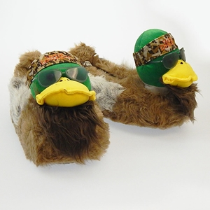 Duck Dynasty Willie Duck Slippers - Large