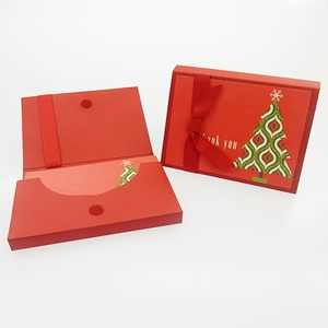 Christmas 10Ct Christmas Tree Thank You Notes