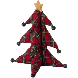 "Red Plaid 13"" October Hill Christmas Tree"
