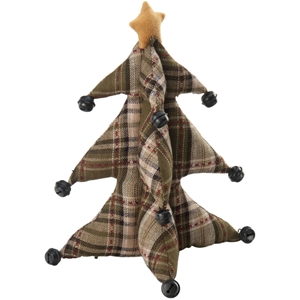 "Green Plaid 13"" October Hill Christmas Tree"