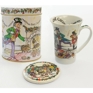 Alice In Wonderland 14Oz Tea Party Mug And Coaster