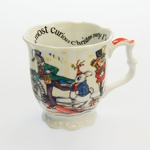 Alice In Wonderland Holiday 11Oz Mug By Paul Cardew