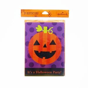 Halloween Pumpkin Party 10-Invitations
