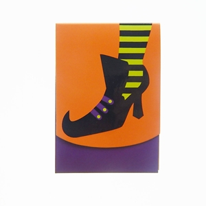 Note Pad - Halloween Witch Boot 95-Sheets