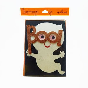 Halloween Ghost Party 10-Invitations With Envelops