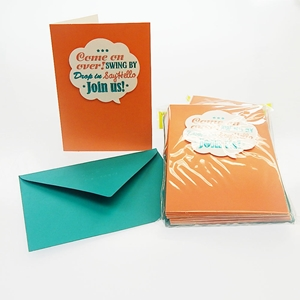 Word Bubble 10Ct Invitations