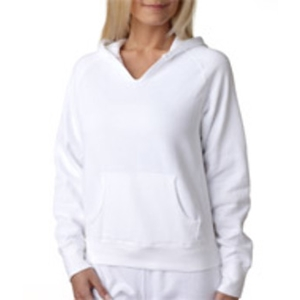 Chouinard Ladies' Hooded Sweatshirt - White (Xl)
