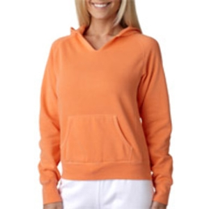 Chouinard Ladies' Hooded Sweatshirt - Melon (M)