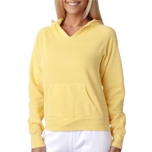 Chouinard Ladies' Hooded Sweatshirt - Butter (L)