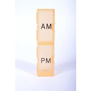 Daily 2-Compartment Pill Box