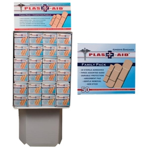 50 Count Adhesive Bandage In Display