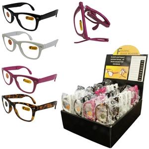 Folding Reading Glasses Assortment W/ Display