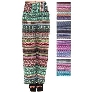 Women'S Pants - Tribal Prints