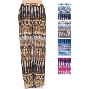 Women'S Pants - Colorful Prints