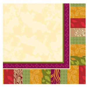 Fall Expressions Paper Beverage Napkins-5'' X 5''