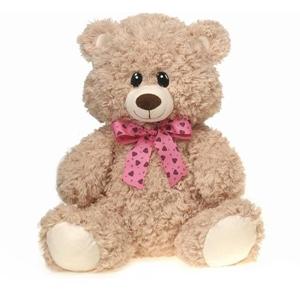 "16"" Bear With/ Ribbon"