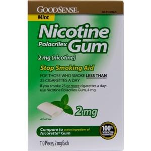 Good Sense Nicotine Gum 2 Mg- Mint