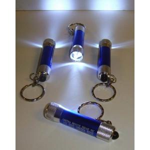 Misprint 3 Light Super Bright Led Push Button Flashlight Keychain