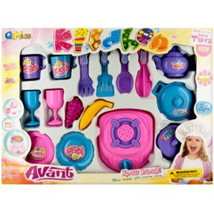Beverage And Cooking Play Set