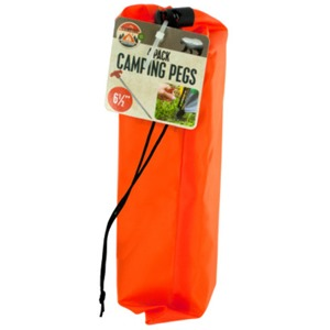 Camping Pegs Set With Carrying Bag