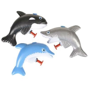 "3"" Sea Creature Water Guns"