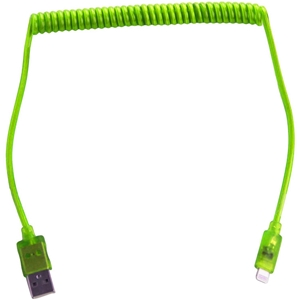 Green 8-Pin Coil Charge and Sync Cable