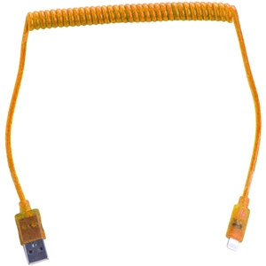 Orange 8-Pin Charge and Sync Cable