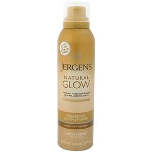 Jergens - Natural Glow Foaming Daily Moisturizer For Fair To Medium Skin Tones (6.25 Oz.)