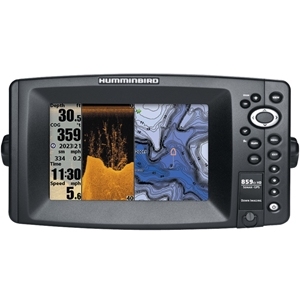 Humminbird - 859C Hd Di Combo Fishfinder