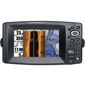 Humminbird - 899Ci Hd Si Combo Fishfinder