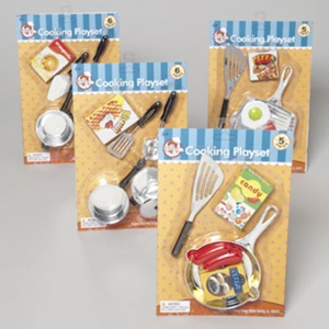Cooking Playset 5-6 Piece