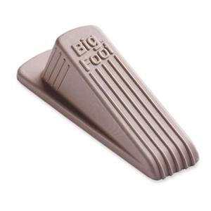 """Master Caster Company No-Slip Doorstop, Rubber, 2-1/4""""X4-3/4""""X1-1/4"""", Beige"""