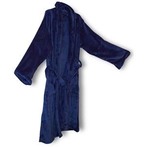 Mink Touch Luxury Robe - Navy