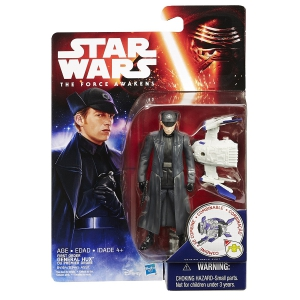 Star Wars The Force Awakens Space Mission First Order General Hux