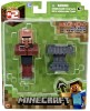 Minecraft Series 2 Blacksmith Villager with Accessory 3""