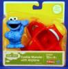 Playskool Sesame Street Cookie Monster with Airplane
