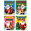 Christmas Super Color Coloring Book